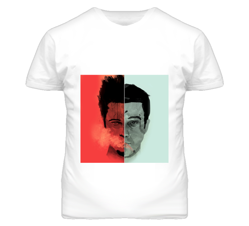 Fight Club Brad Pitt Edward Norton Movie T Shirt