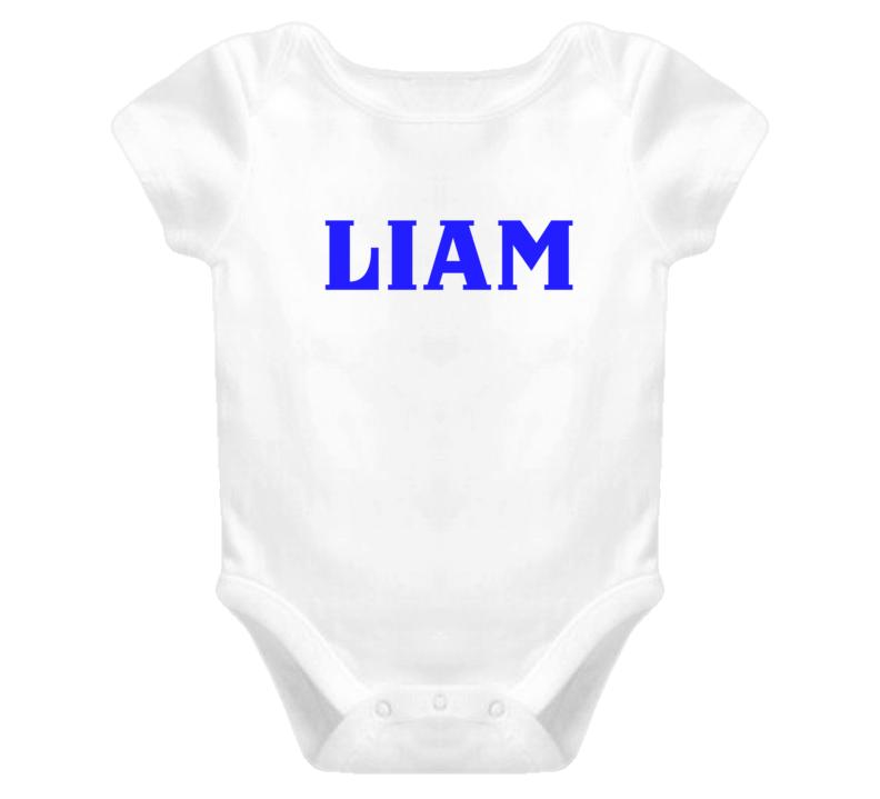 Liam Onsie Personalized Onsie  T Shirt Onsie