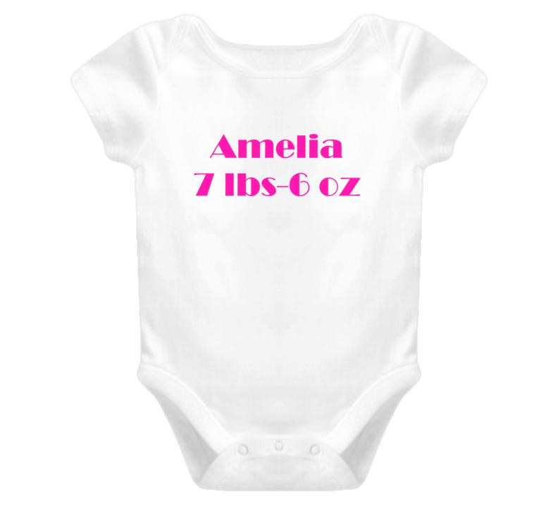 Amelia Onsie Tshirt