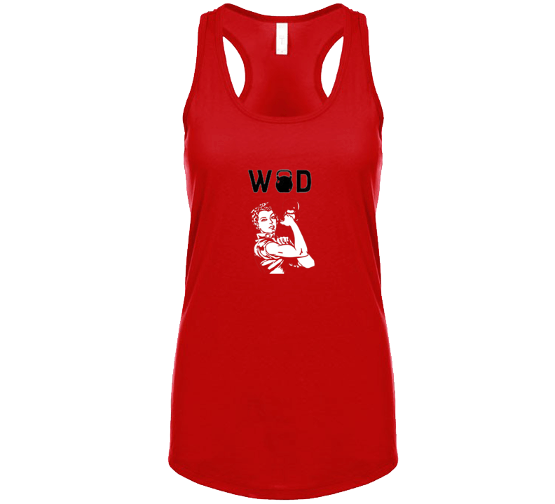 Work Out Of The Day, Wod, Women  T Shirt