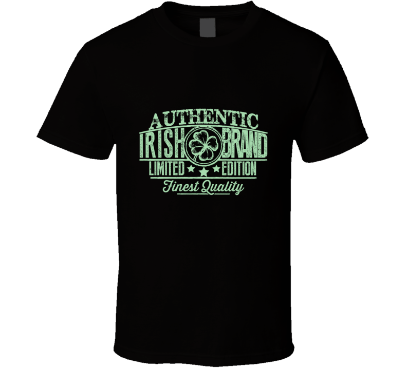 Authentic Irish Brand Limited Edition Finest Quality T Shirt