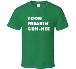 Yoon Freakin' Gun-Hee Lovers In Prague Tv Character T Shirt