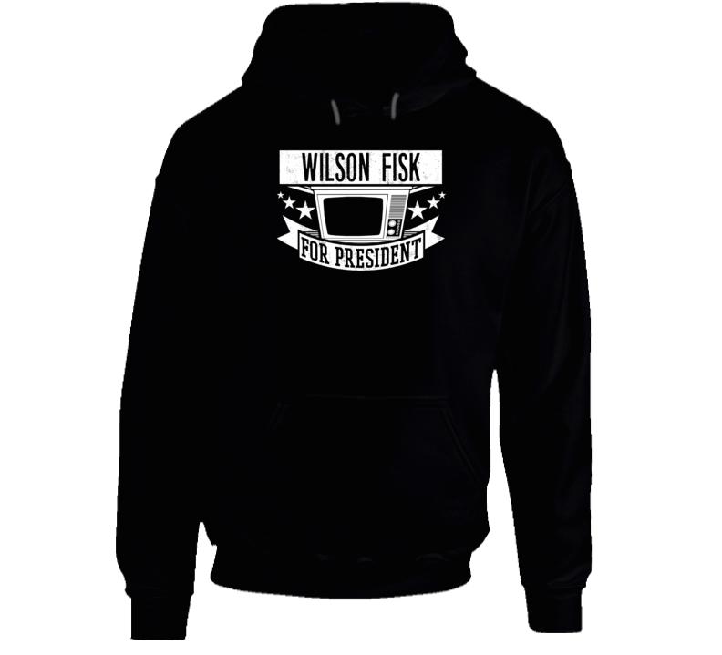 Wilson Fisk For President Daredevil TV Show Series Hooded Pullover