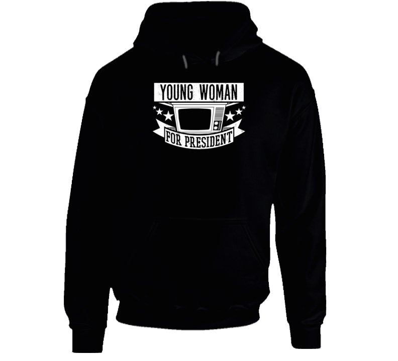 Young Woman For President Fargo TV Show Series Hooded Pullover