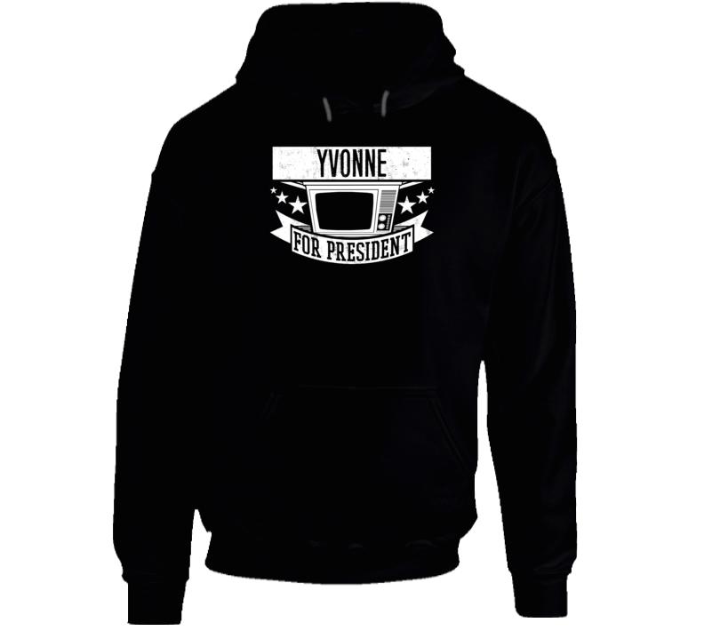 Yvonne For President Orphan Black TV Show Series Hooded Pullover
