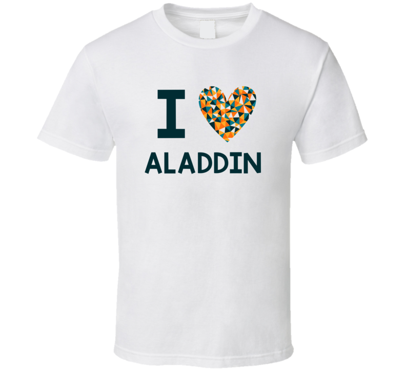 I Love Aladdin Favorite TV Show T Shirt