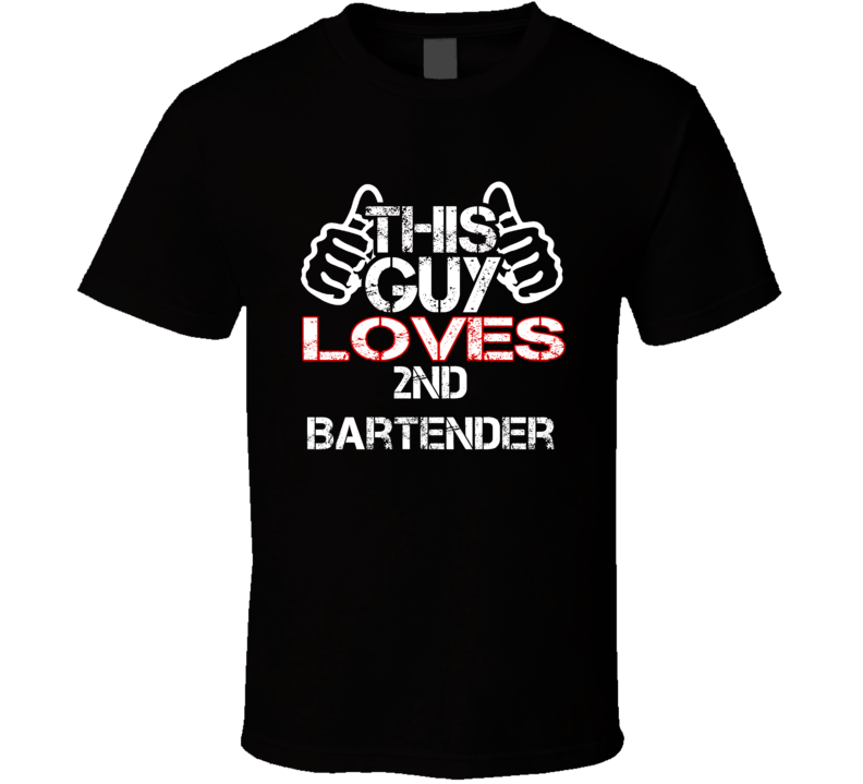 This Guy 2nd Bartender Columbo T Shirt