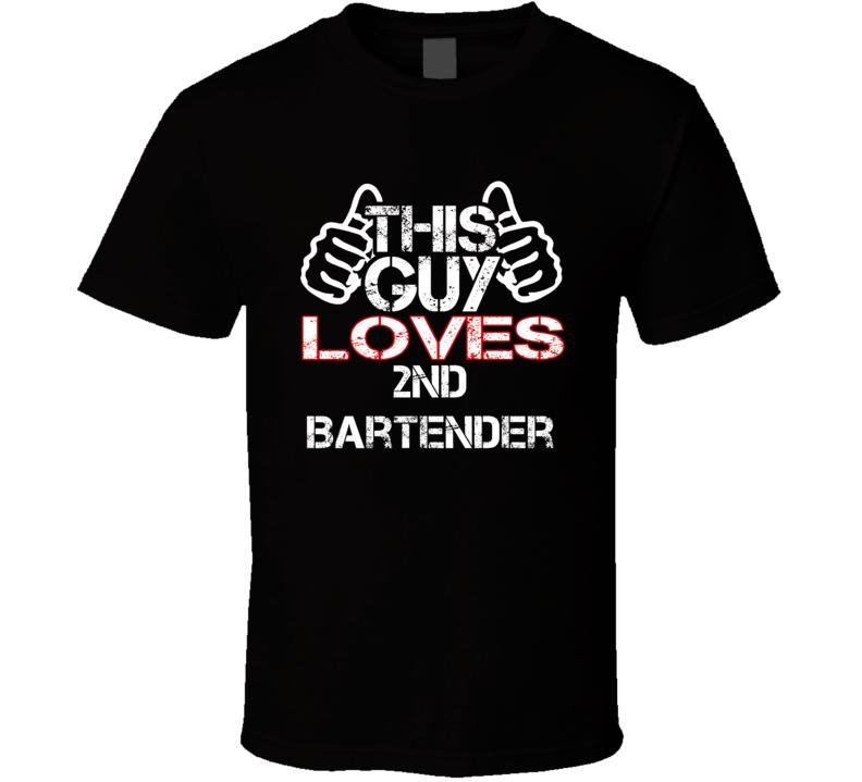 This Guy 2nd Bartender Columbo T Shirt