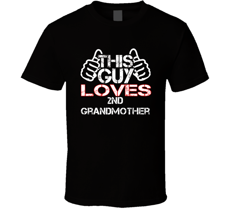 This Guy 2nd Grandmother Mia Apithani Giagia T Shirt