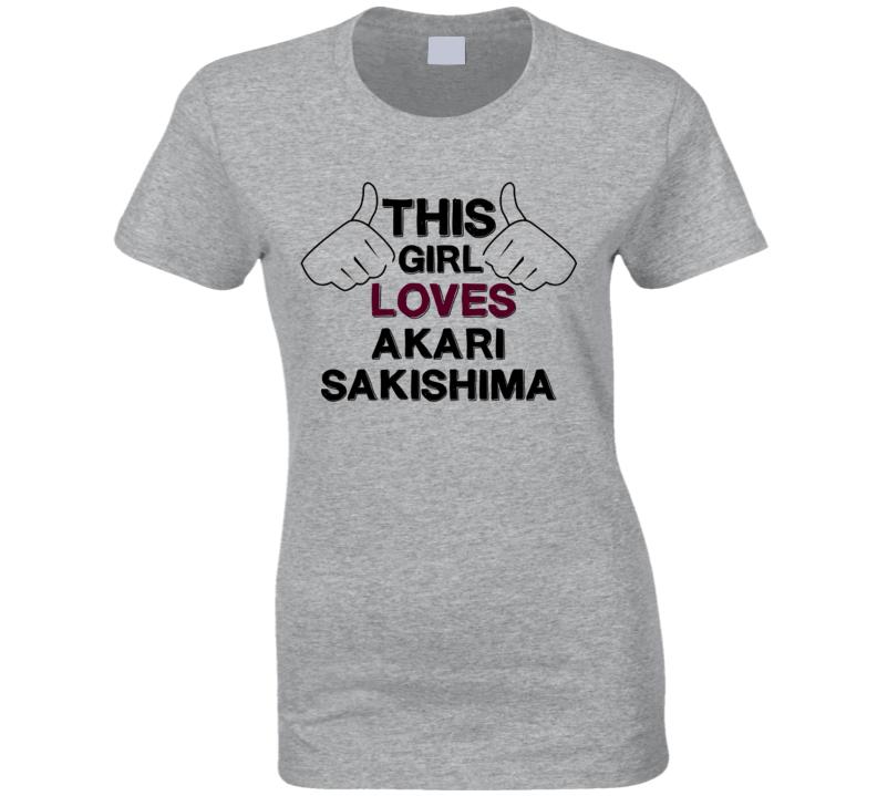 This Girl Akari Sakishima Nagi-Asu A Lull in the Sea T Shirt
