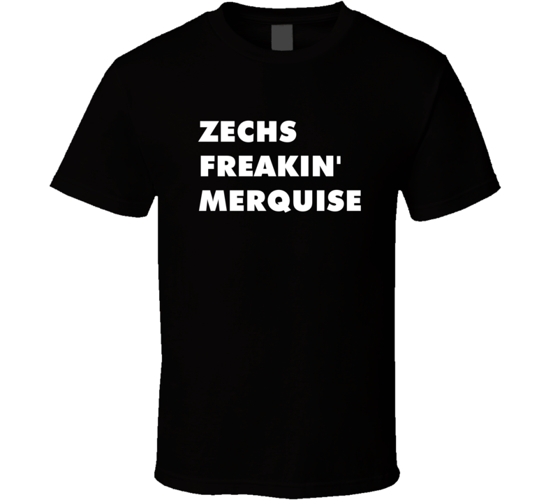 Zechs Freakin' Merquise Mobile Suit Gundam Wing Tv Character T Shirt