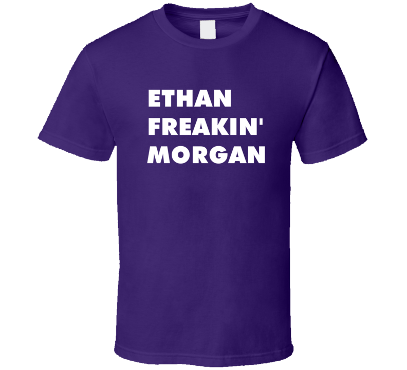 Ethan Freakin' Morgan My Babysitter'S A Vampire Tv Character T Shirt