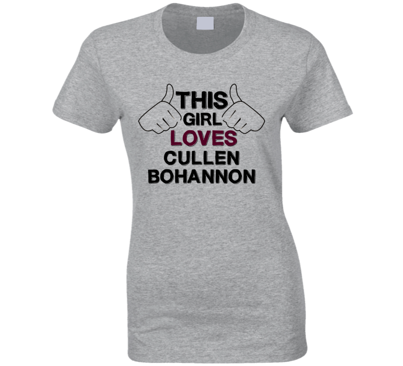 This Girl Cullen Bohannon Hell on Wheels T Shirt
