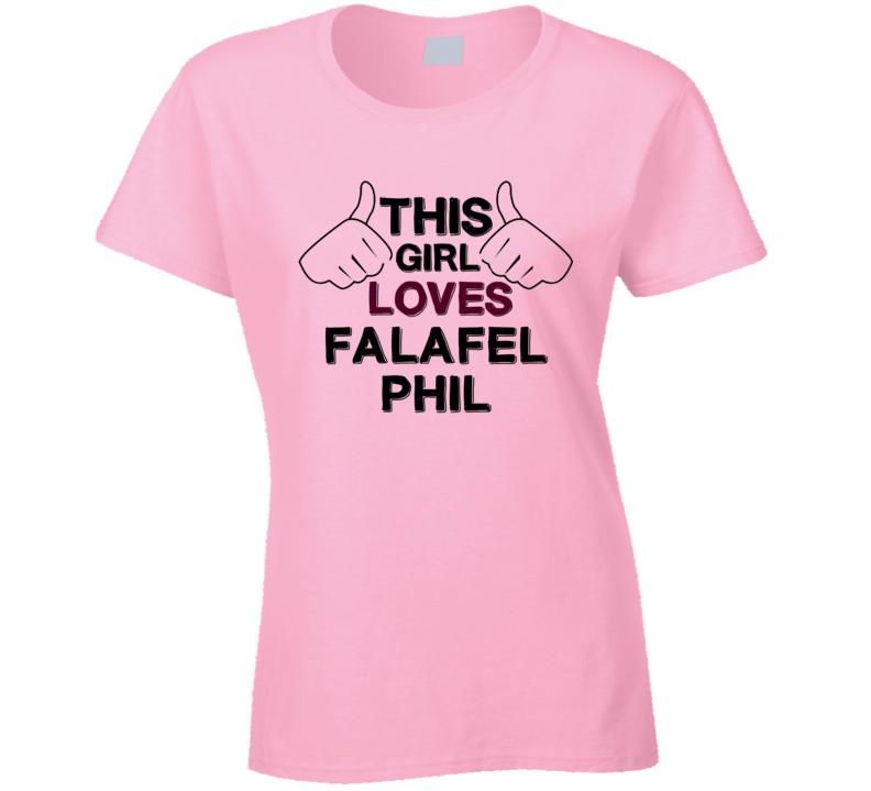 This Girl Falafel Phil Kickin It T Shirt