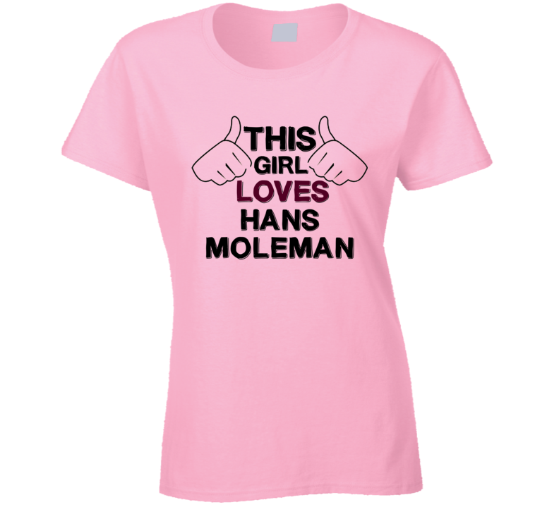 This Girl Hans Moleman The Simpsons T Shirt