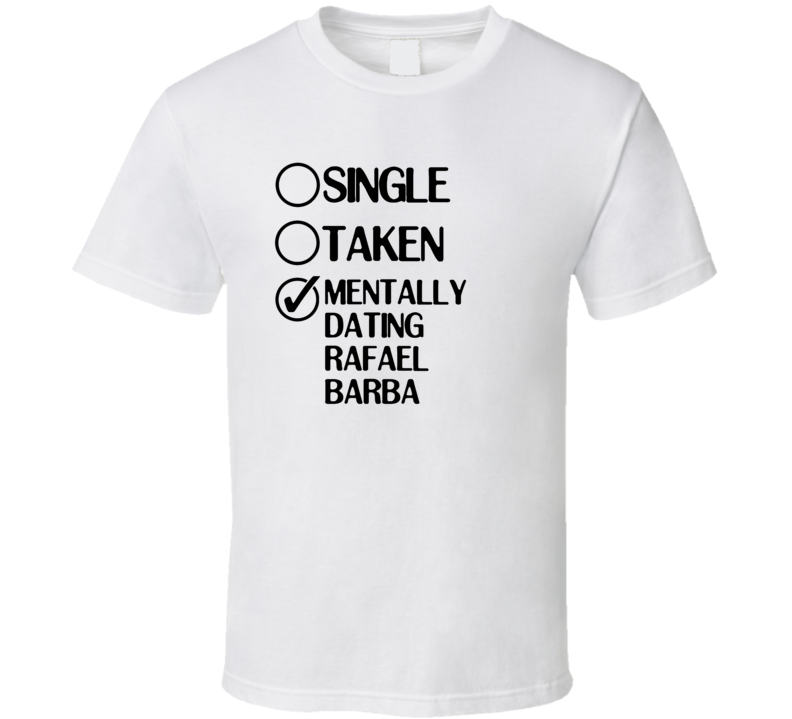 Single Taken Rafael Barba Law And Order Special Victims Unit T Shirt