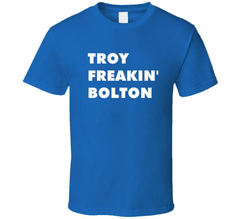 Troy Freakin' Bolton High School Musical Tv Character T Shirt
