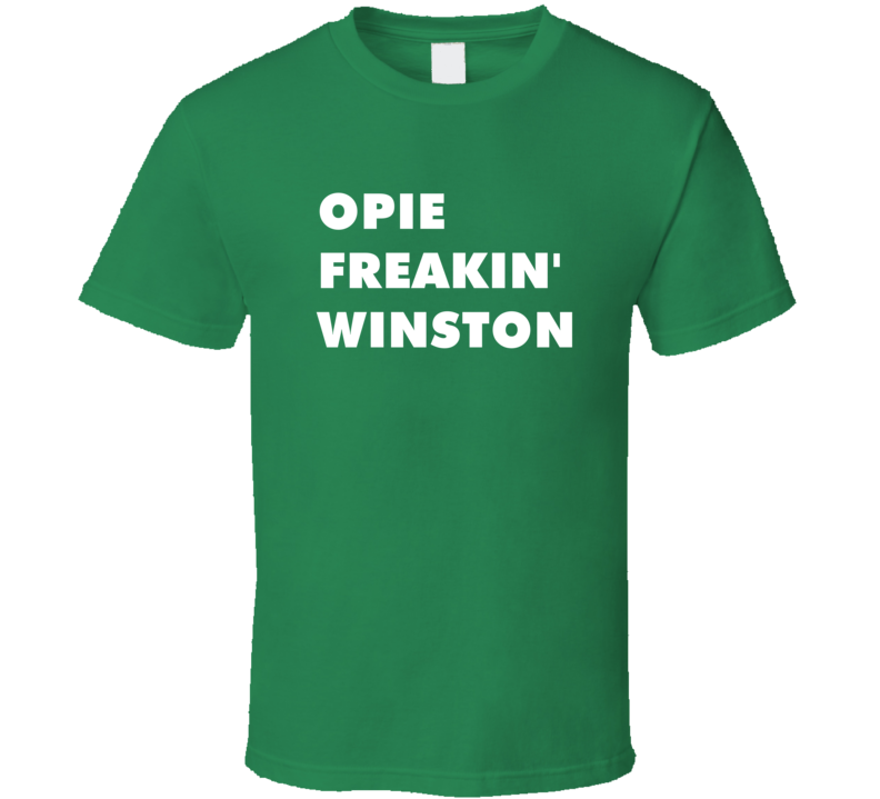 Opie Freakin' Winston Sons Of Anarchy Tv Character T Shirt