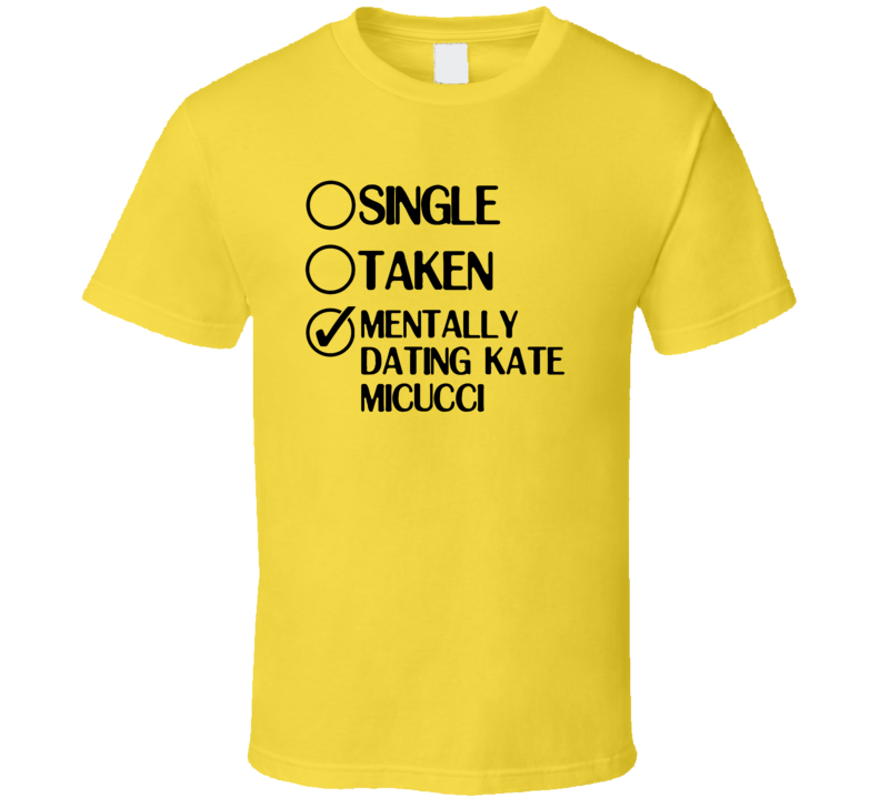 Single Taken Dating Kate Micucci Garfunkel and Oates T Shirt