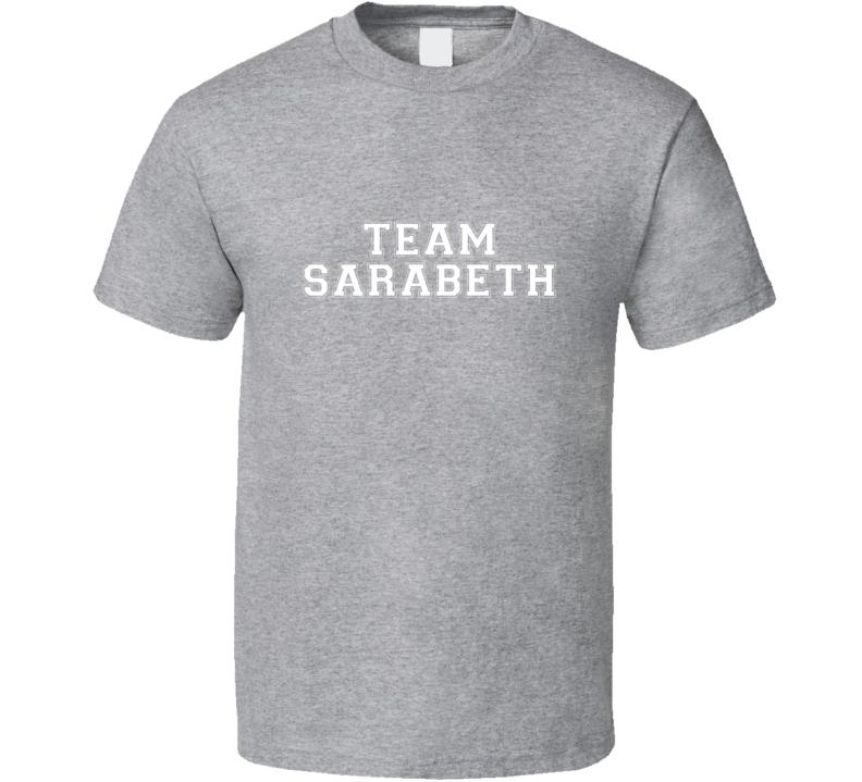 Team Sarabeth TV Show Canned T Shirt