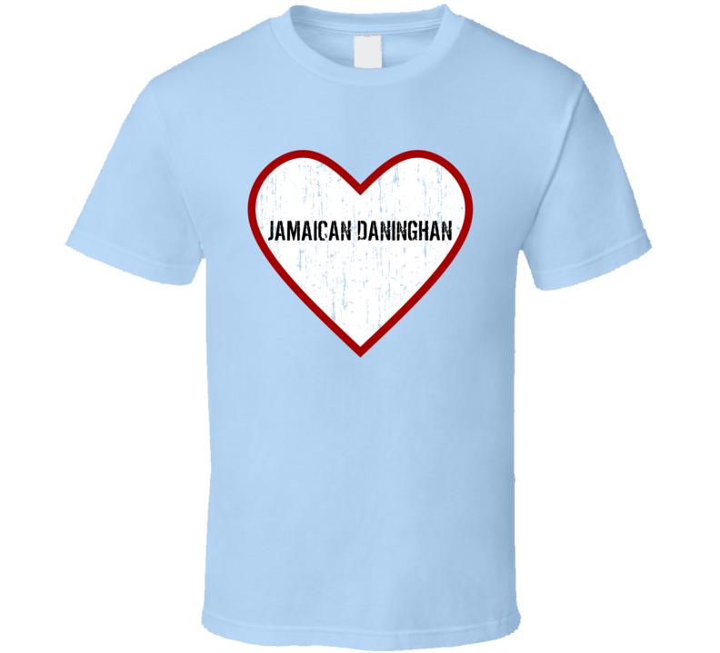 Jamaican Daninghan Mobile Suit Zeta Gundam Love TV Character T Shirt