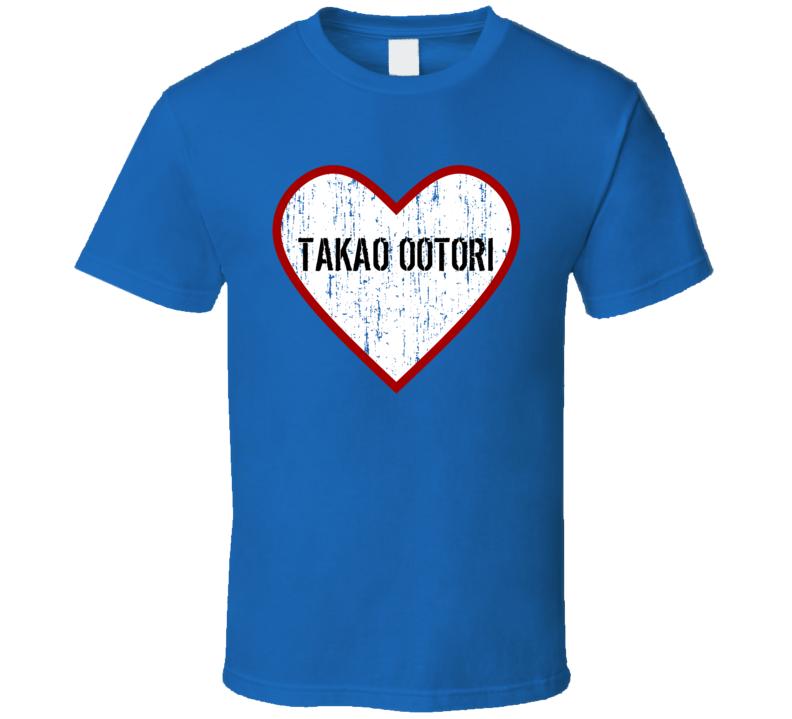 Takao Ootori Ouran High School Host Club Love TV Character T Shirt