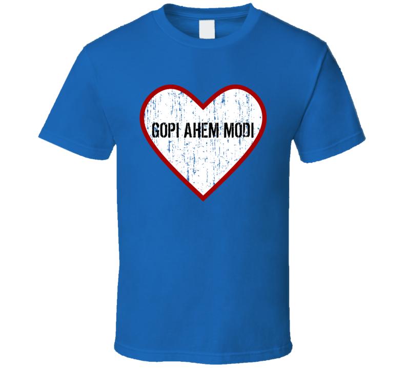 Gopi Ahem Modi Saath Nibhaana Saathiya Love TV Character T Shirt