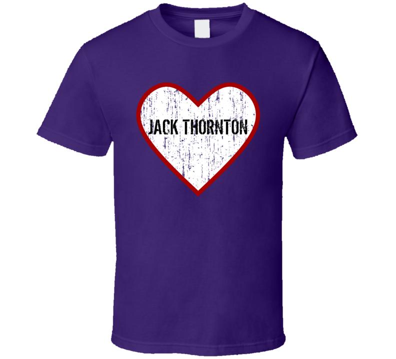 Jack Thornton When Calls the Heart Love TV Character T Shirt
