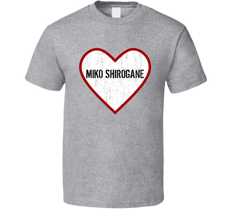 Miko Shirogane Powerpuff Girls Z Love TV Character T Shirt