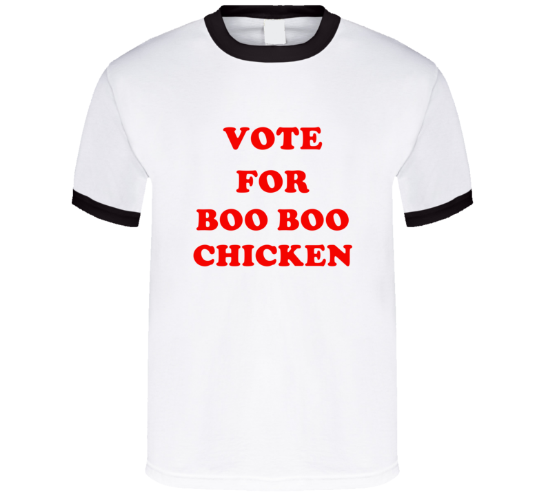 Vote For Boo Boo Chicken Tv Show Mickey Mouse Clubhouse T Shirt