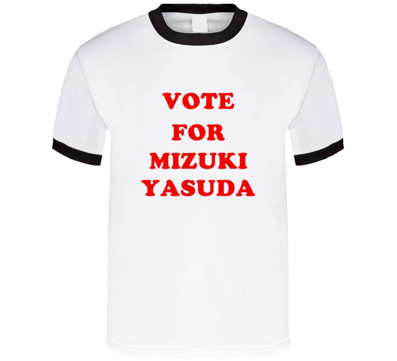 Vote For Mizuki Yasuda Tv Show Nagareboshi T Shirt