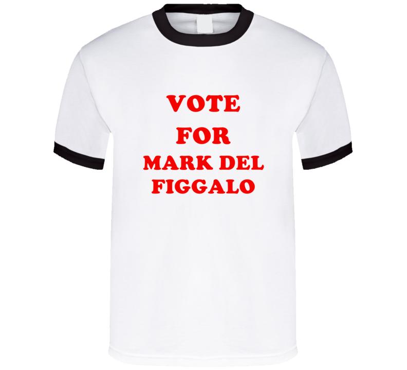 Vote For Mark Del Figgalo Tv Show Zoey 101 T Shirt