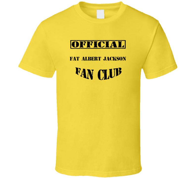 Fat Albert Jackson Fat Albert and the Cosby Kids TV Fan Club T Shirt