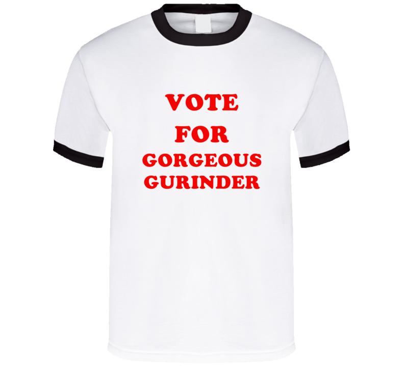 Vote For Gorgeous Gurinder Tv Show Horrid Henry T Shirt