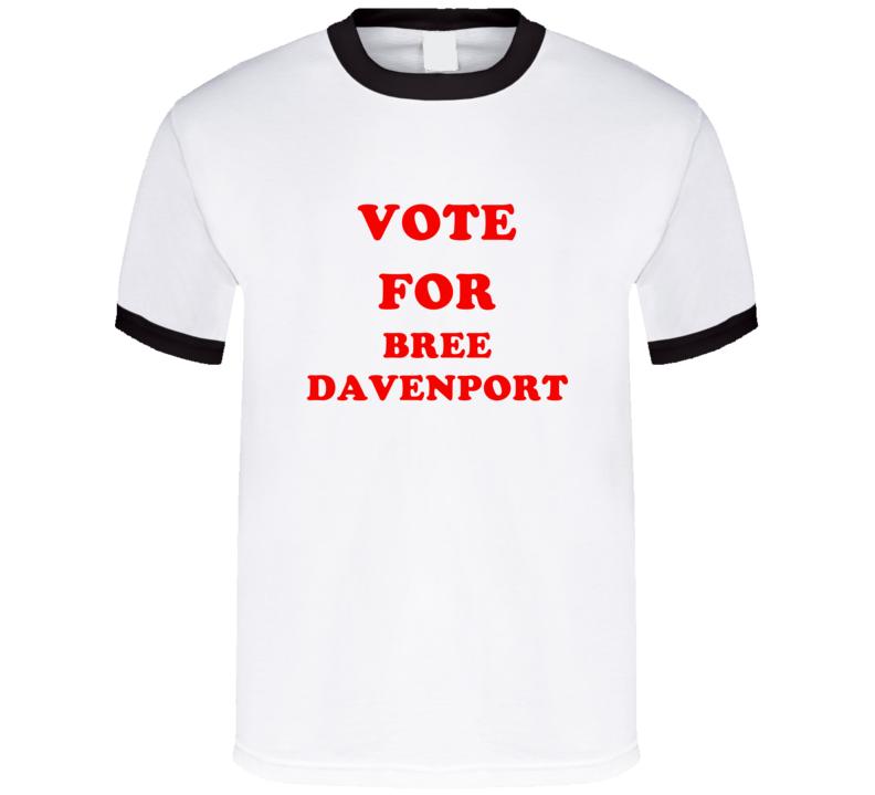 Vote For Bree Davenport Tv Show Lab Rats T Shirt