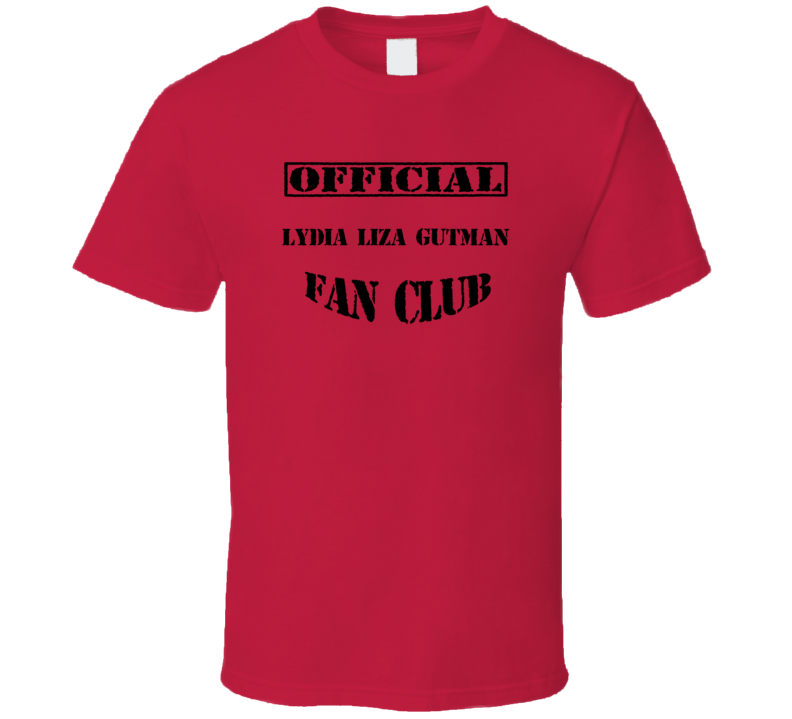 Lydia Liza Gutman The Steve Harvey Show TV Fan Club T Shirt