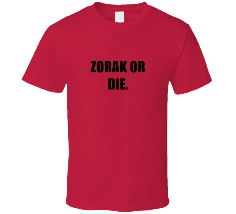 Zorak Or Die Tv Show Space Ghost Coast to Coast T Shirt