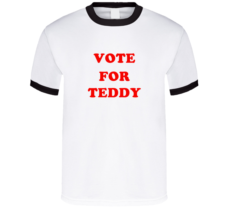 Vote For Teddy Tv Show Bob's Burgers T Shirt