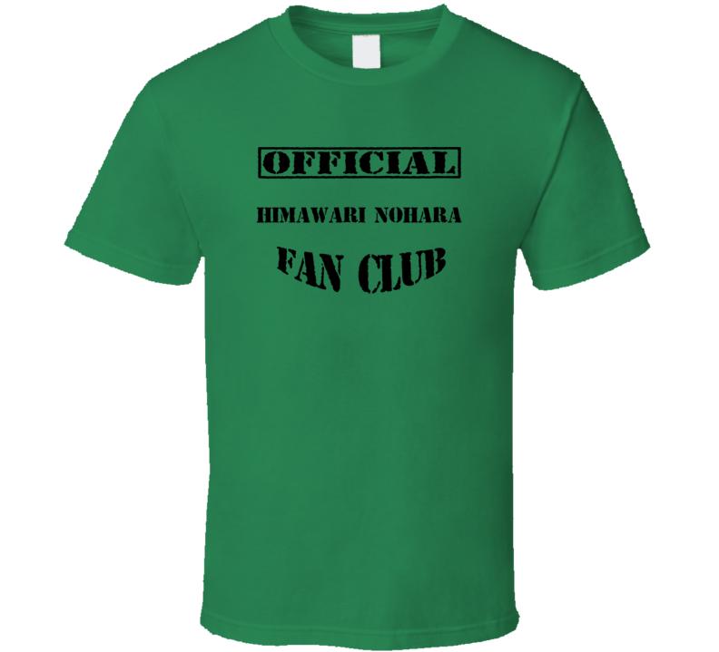 Himawari Nohara Crayon Shin chan TV Fan Club T Shirt