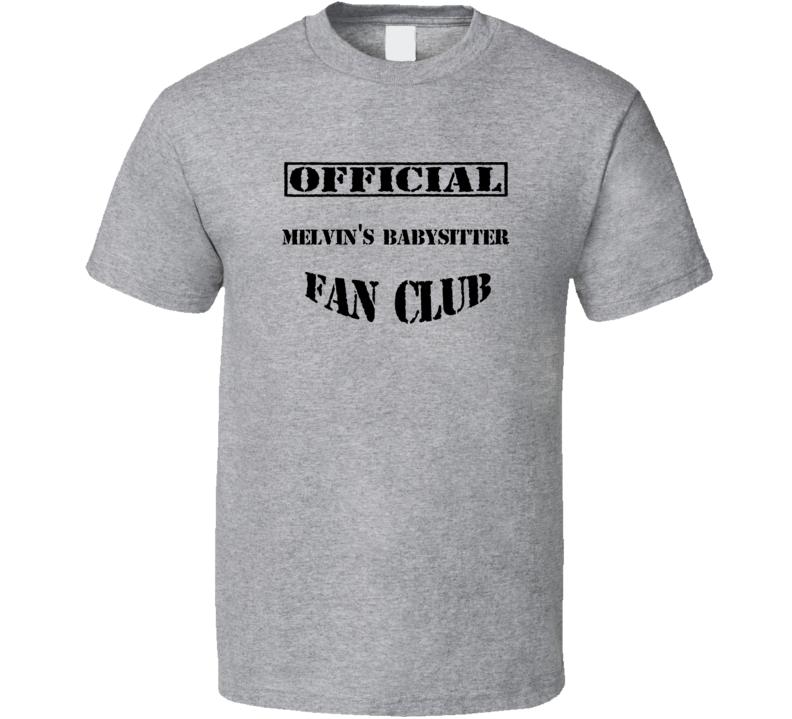 melvins babysitter uncle grandpa tv fan club t shirt
