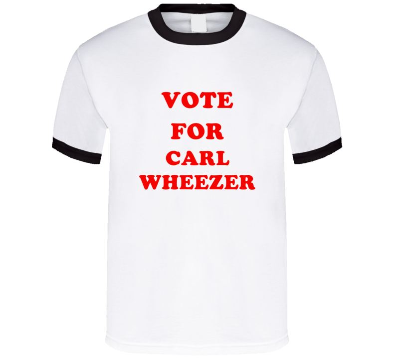 Vote For Carl Wheezer Tv Show The Adventures of Jimmy Neutron Boy Genius T Shirt