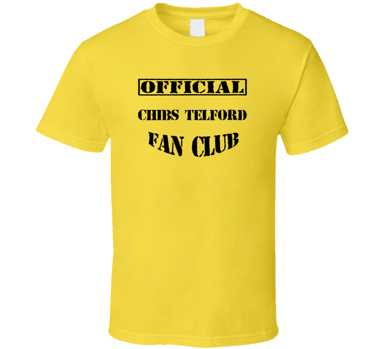 Chibs Telford Sons of Anarchy TV Fan Club T Shirt