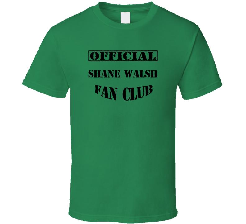 Shane Walsh The Walking Dead TV Fan Club T Shirt