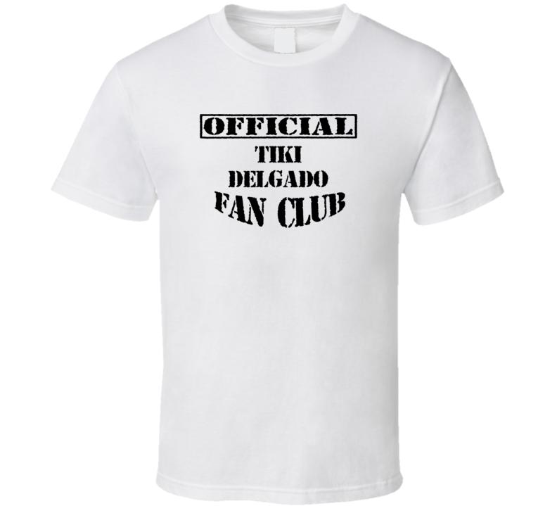 Tiki Delgado Zeke and Luther TV Fan Club T Shirt
