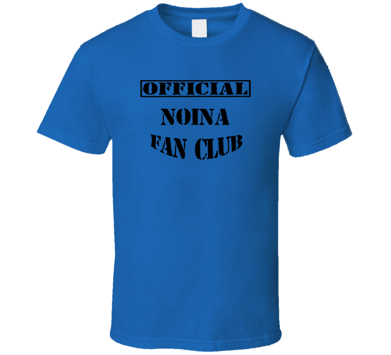 Noina Wai Puan Kuan La Fun TV Fan Club T Shirt