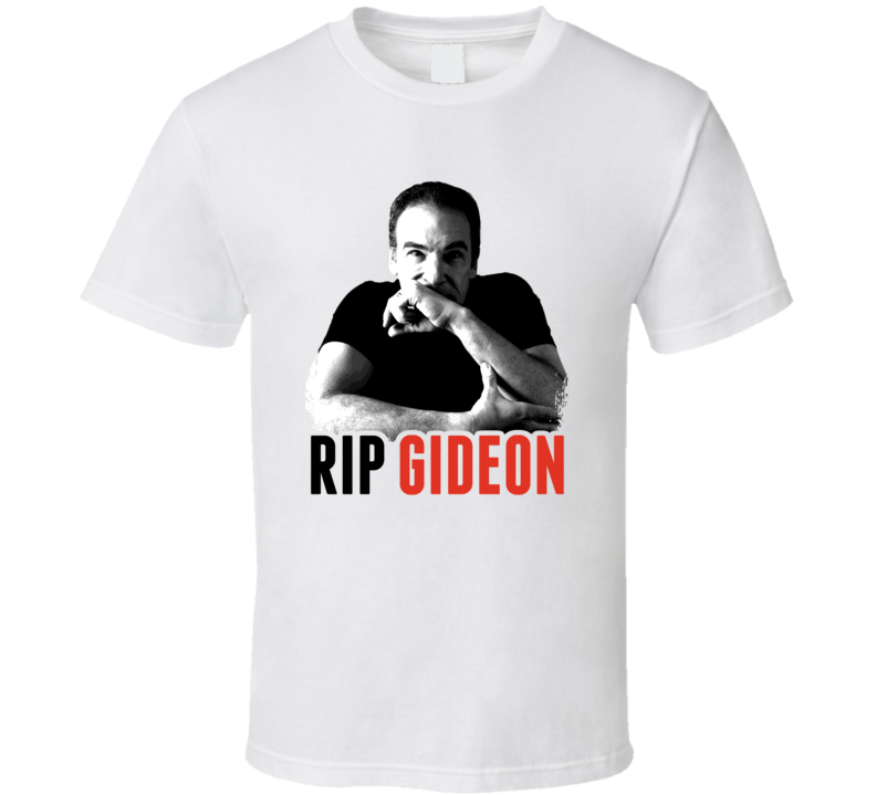RIP Jason Gideon Criminal Minds Mandy Patinkin Death T Shirt