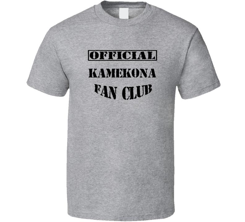 Kamekona Hawaii Five 0 TV Fan Club T Shirt