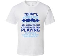 Todays Forecast Doraemon Minna de Asobo Minidorando Gamecube T Shirt