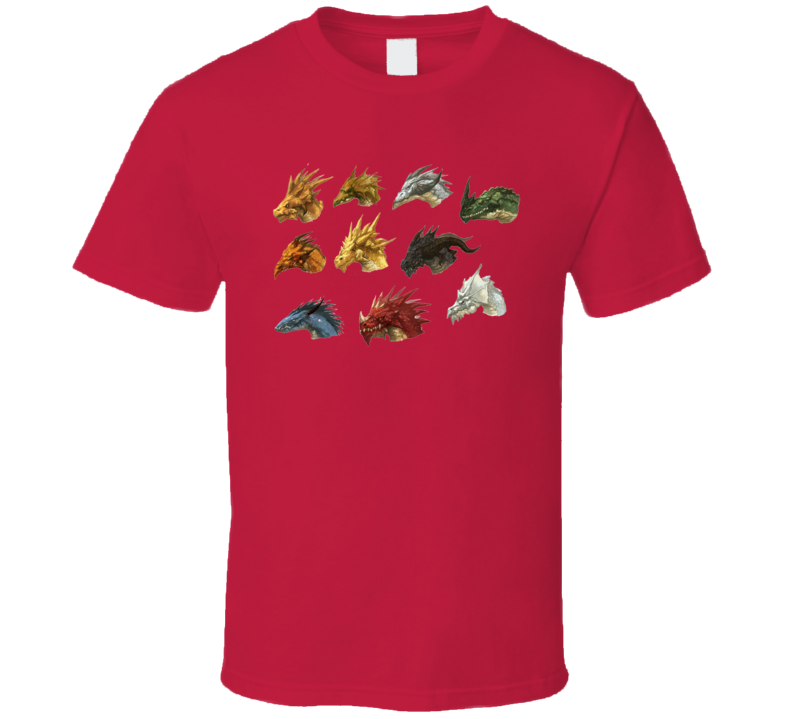 Dragons D&D Dungeons and Dragons Pathfinder RPG T Shirt