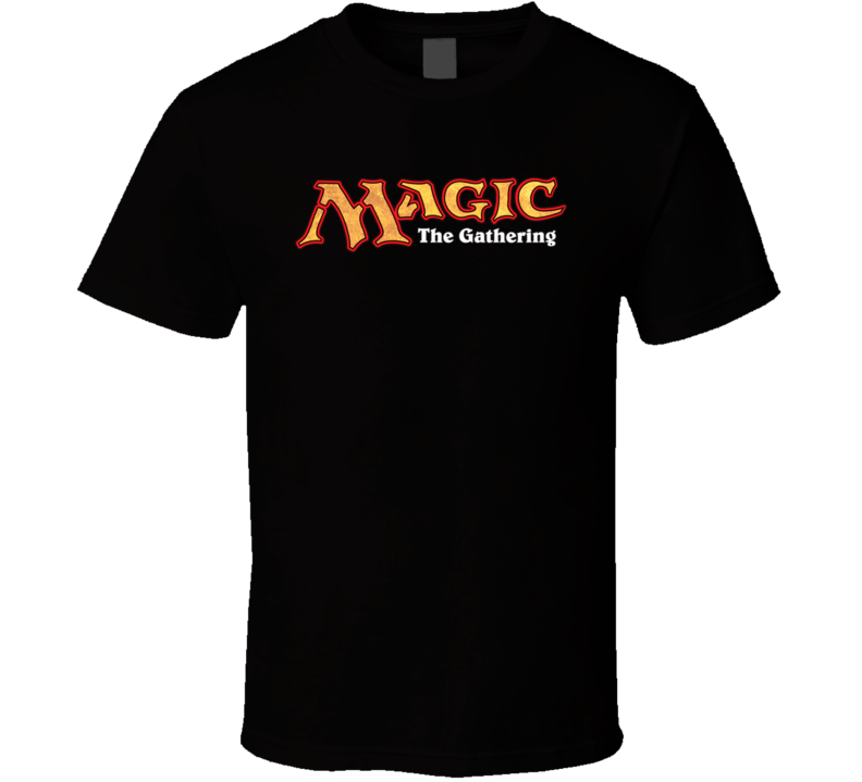 Magic the Gathering Logo CCG Card Game T Shirt